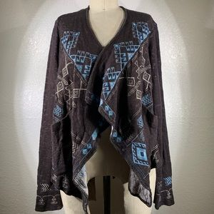 Johnny Was Embroidered Osiris Wrap size S NWT